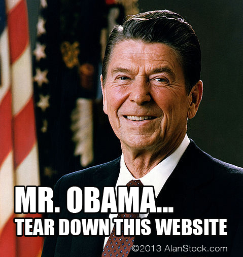 Reagan Website
