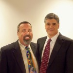 Alan Stock and Sean Hannity, June 2009